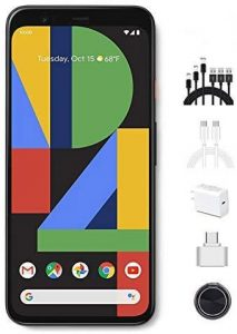 Google - Pixel 4 Unlocked Android Smartphone with 64GB