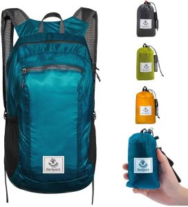 4Monster Hiking Daypack,Water Resistant Lightweight Packable Backpack for Travel