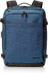 Amazon Basics Slim Carry On Laptop Travel Weekender Backpack