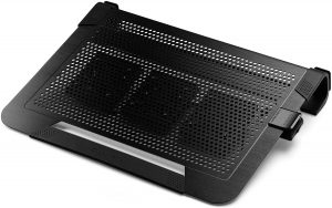 Cooler Master NotePal U3 PLUS - Gaming Laptop Cooling Pad with 3 Moveable High Performance Fan