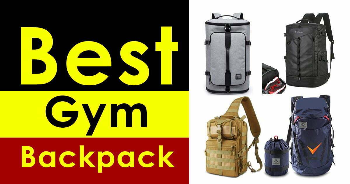 Gym Backpack with Belt Holder