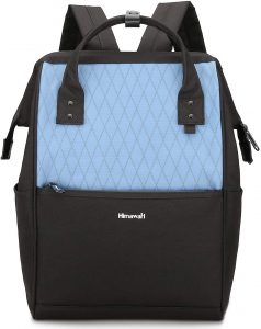 Himawari Laptop Backpack Travel Backpack With USB Charging Port