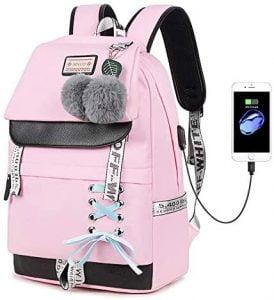 Lmeison Backpack for Girls, Women Bookbag