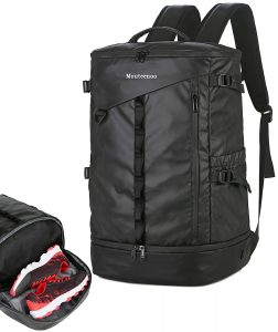 Mouteenoo Travel Backpack with Shoes Compartment for Gym Sports Hiking