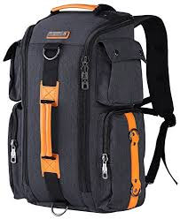 WITZMAN Canvas Backpack Large Travel Backpack