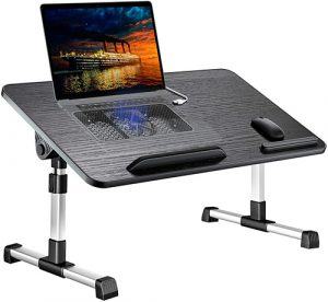 Laptop Desk for Bed,LEEHEE Adjustable Lap Bed