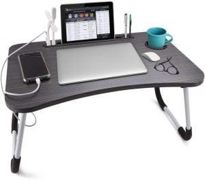Slendor Laptop Desk Foldable Bed Table