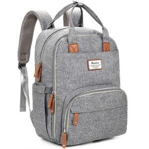 Diaper Bag Backpack, RUVALINO Multifunction