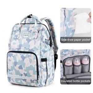 Hanke Diaper Backpack Multifunction Large Travel Backpack