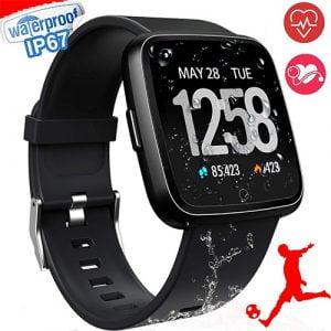 Smart Watch, Waterproof Multisport Fitness Trackers
