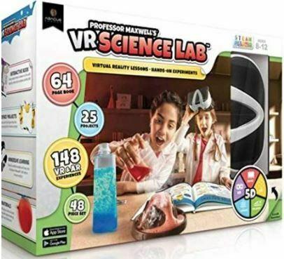 Professor Maxwell's VR Science Lab